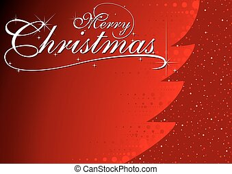 백열하는 것, 나무, 떼어내다, 크리스마스