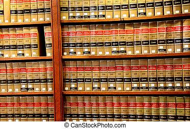 법률 서적, 도서관