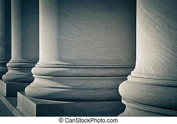 법, 기둥, 교육, 정부