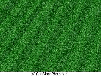 벗기는, 잔디