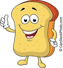 베다, 성격, 만화, bread