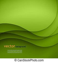 벡터, 녹색의 배경