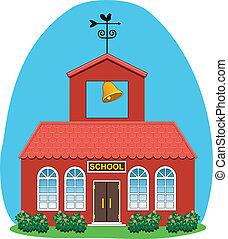 벡터, 시골의 저택, 학교