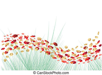 벡터, 심혼, 꽃