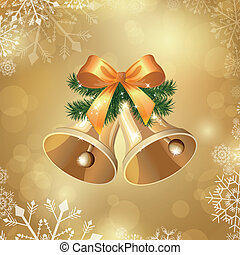 벡터, 크리스마스, 배경