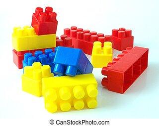 벽돌, 플라스틱 장난감, bricksplastic