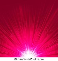 별 파열, flare., eps, porple, 8, 백색