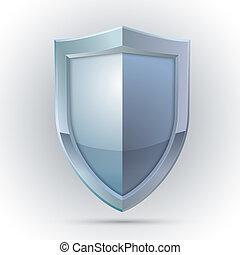 보호, 상징, 방패, 공백