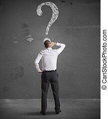 복합어를 이루어 ...으로 보이는 사람, 실업가, 질문, 혼란한다, 표