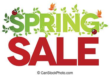 봄, 고립된, 판매