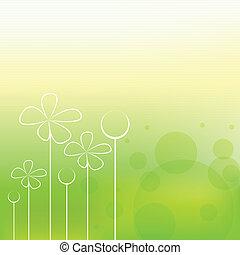봄, 배경, 아름다운