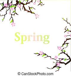 봄, 배경