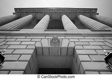 부과함, 건물, 워싱톤 피해 통제, 정부