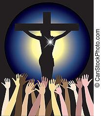 부활절, 그리스도, 힘, 예수