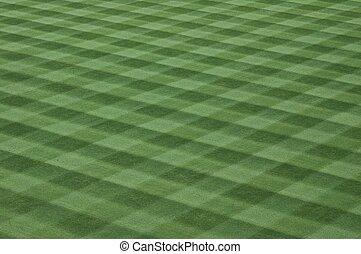 분야 잔디, 야구, 잔디