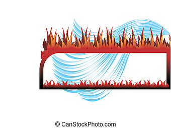 불 물, 구조