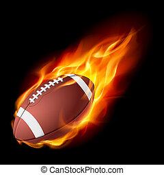 불, 실감나는, american 축구
