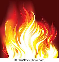 불, 은 타오른다, 배경
