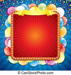 빌보드, 다채로운, 축제의