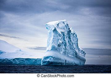 빙산, 남극