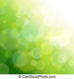 빛, 떼어내다, 녹색, 배경.