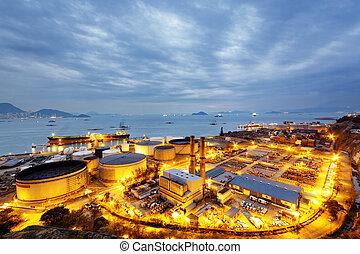 빛, 산업, 석유 화학 제품, 백열
