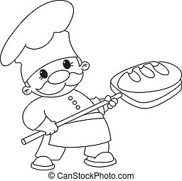 빵 굽는 사람, 개설되는, bread