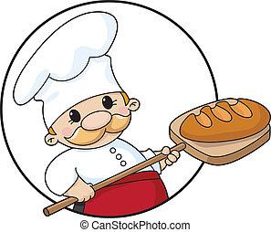 빵 굽는 사람, 원, bread