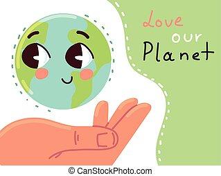 사랑, 행성, 우리