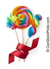 사탕 과자, 다채로운