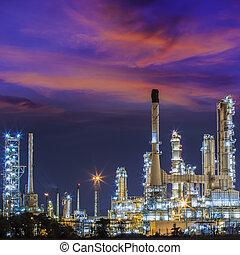 산업, 기름, refinary