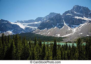 산, 국립 공원, 호수, banff