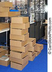 상자, 생산