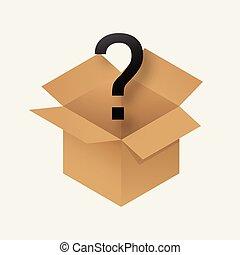 상자, 신비, 아이콘