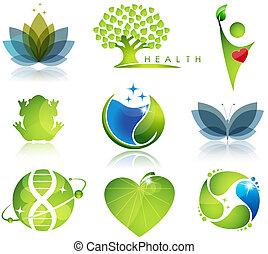 상징, 건강 관리, 생태학