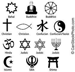 상징, 수도자