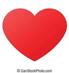 상징, 심혼 모양, 사랑