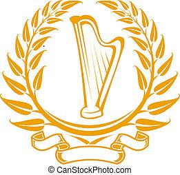 상징, 하프