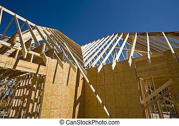새로운, 건축 용지, 가정