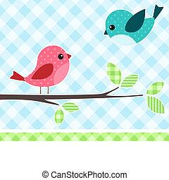 새, 가지