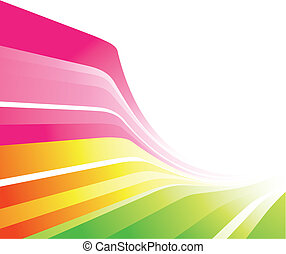 색채가 풍부한, 디자인