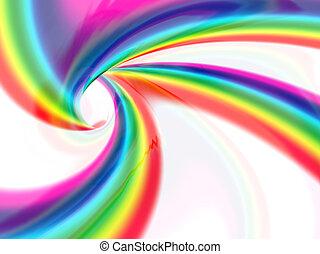 색, 떼어내다, 가득하다, 소용돌이, 액체