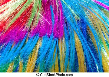 색, 머리, 배경