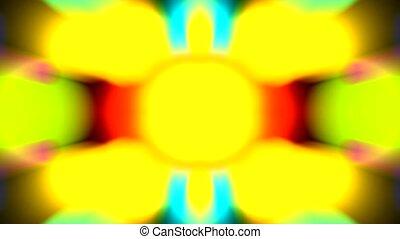 색, 패턴, 광선, 디스코, 빛, 공상