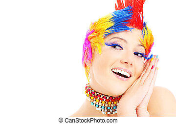 색, 행복한 얼굴