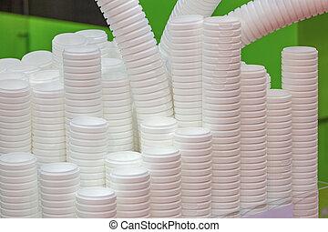 생산, 플라스틱 컵