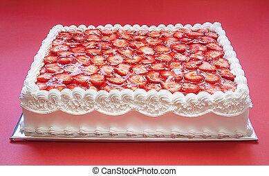 생일 케이크, 딸기
