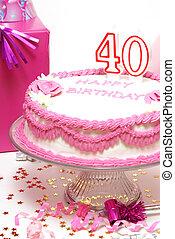 생일, 40th, 행복하다