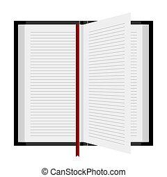 서표, 책, 열려라
