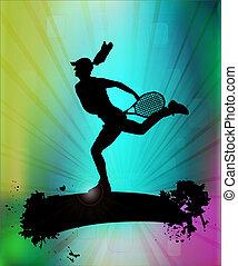선수, 테니스
